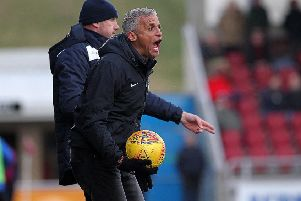 Angry Keith: Curle feels his players don't respect the 'fundamentals' of football