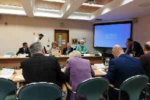 The West Northamptonshire joint committee met for the first time at The Guildhall last week