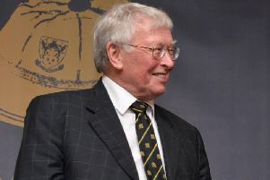 Geoff Allen has been a key figure at Franklin's Gardens for decades