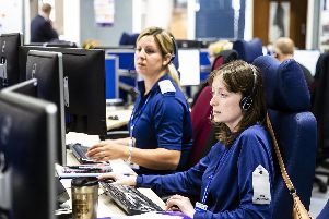 The forceaims to answer 90 per cent of 999 calls within 10 seconds. Pictures: Kirsty Edmonds.