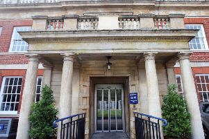 Northamptonshire Police's Wootton Hall HQ.
