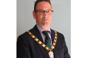 The new chairman of Daventry District Council, Councillor David Smith