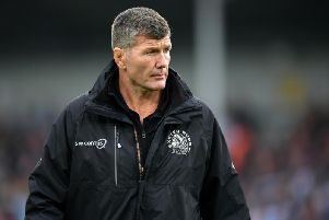 Exeter boss Rob Baxter