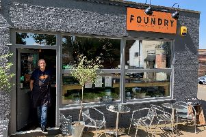 Paul Donnelly outside The Foundry