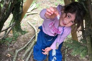 Children learn in the great outdoors at new Upper Boddington educational oasis