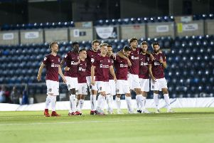 Cobblers lost out to Wycombe in a penalty shoot-out in the first round of the competition last season