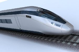 Construction work is progressing on the first phase of HS2