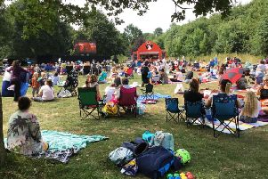 Events such as the free Family Cinema Day were among the community activities put on by Daventry District Council over the past 12 months.