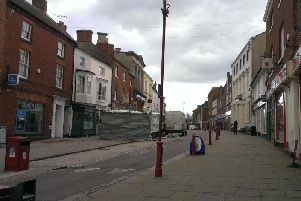 Daventry had bid for Future High Streets funding