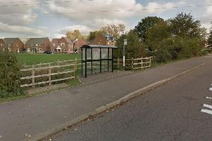 Police were called to the park near Cowley Meadow Way off the Main Road in Crick