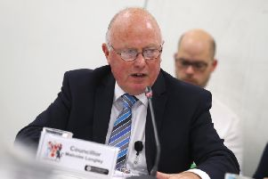Councillor Malcolm Longley is attempting to balance the books again at the county council