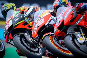 The British MotoGP takes place at Silverstone this weekend. Picture courtesy of Silverstone Circuits