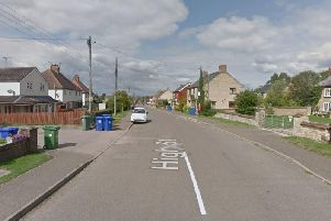 The attempted burglary was on High Street, Silverstone. Photo: Google