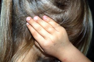 Latest figures show that children were present in 90 percent of domestic abuse incidents recorded in the county.