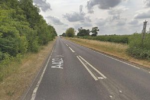 The crash was on the A422 near Deanshanger. Photo: Google