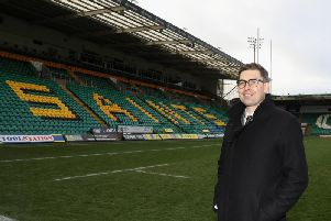 Saints CEO Mark Darbon