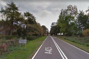 A woman was left with serious head injuries following the incident in Daventry Road, Staverton
