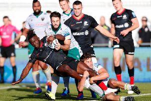 Saints saw off Saracens at Allianz Park