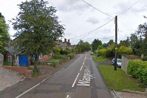The robbery was at a property on Wappenham Road, Abthorpe. Photo: Google