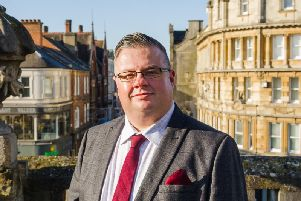 Parliamentary candidate for Northampton South Gareth Eales