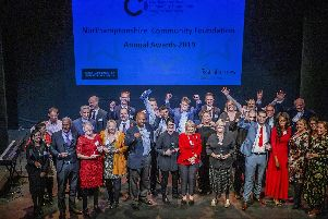 The winners at the 2019 Northamptonshire Community Foundation Awards