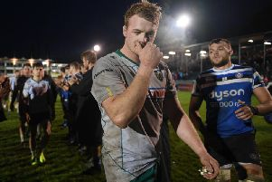 David Ribbans and Co were left disappointed as they were beaten at Bath