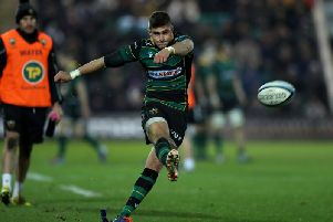James Grayson was in fine form for Saints against Tigers