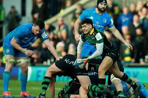 Connor Tupai will start for Saints in Dublin