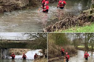 Northamptonshire Search and Rescue supporting police