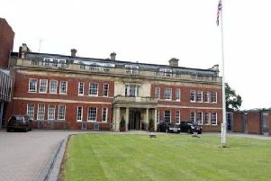 The hearing was held at Northamptonshire Police's headquarters at Wootton Hall Park