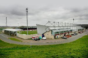 Northampton Town Football Club's home Sixfields is at the centre of the missing millions investigation