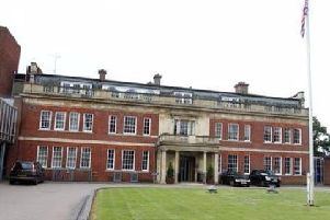 The hearing was held at Northamptonshire Police's headquarters, Wootton Hall Park