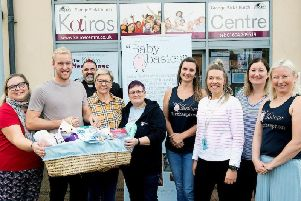 Baby Basics in Northampton received money from the grant last year that allowed them to reach a milestone.