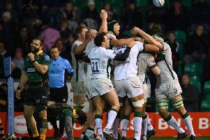 London Irish left it late to win at Saints
