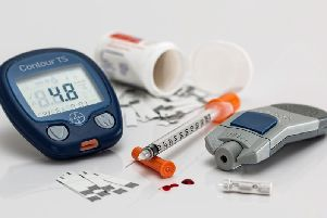 The number of people with diabetes in Northamptonshire has jumped by over 1,600 cases in a year.