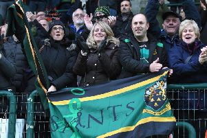 Saints have enjoyed impressive travelling support in Europe this season