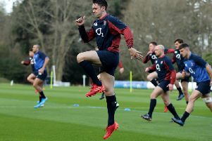 Alex Mitchell has been training with England's Six Nations squad