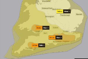 Met Office experts have issued a series of weather warnings for Storm Dennis' arrival on Saturday