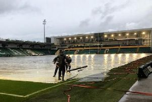 There was plenty of rain at the Gardens overnight