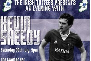 An Evening with Kevin Sheedy takes place in the Magnet Bar, this Saturday. INLS30-Sheedy