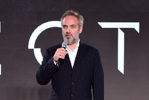 Director of James Bond movies, 'Skyfall' and 'Spectre', Sam Mendes.