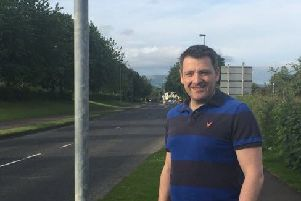 SDLP Colr. John Deighan believes the speed limit at the lower end of Greystone Road should be lowered to 30mph.