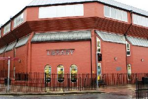 The Central Library. Foyle Street, Derry.