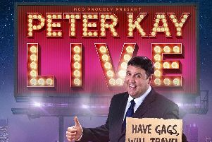 Peter Kay is bringing his new tour to Belfast and Dublin in 2019.