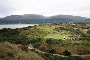 Number one: Royal County Down was ranked as the top course in Ireland by Golf Digest