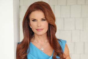 Roma Downey on her new book:'If I'm knocked down, I get up again'