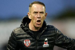 Derry City manager Kenny Shiels.