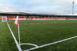 The Brandywell Stadium to stage Irish League football next season.