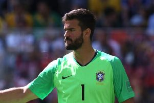 Liverpool have lodged a bid for Alisson