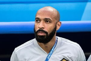 Thierry Henry has been linked with the manager's job at Championship Aston Villa